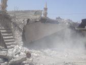 صور.. إزالة 25 حالة تعدٍ على أراضى الدولة بالمنتزه شرق الإسكندرية