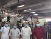 صور.. حملة للمرور على مصانع الصالحية الجديدة للتأكد من تطبيق الإجراءات الاحترازية