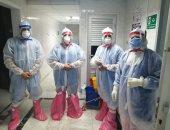 نجاح أول ولادة قيصرية لمصابة بكورونا في مستشفى هيئة قناة السويس.. صور