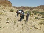 التجهيز لبناء سد جديد بقرية التمد بوسط سيناء لحجز مياه السيول