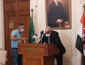 """""""أبو شقة"""" يهاجم التدخلات الخارجية فى الشأن الليبى ويدعو للالتزام بإعلان القاهرة"""