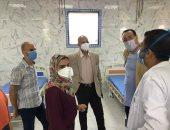 إضافة جناح جديد لعزل حالات كورونا بمستشفى الصدر فى الزقازيق بإجمالى 46 سريرا