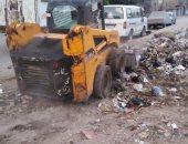 """تعقيم الشوارع ورفع تجمعات القمامة بحى ثان الزقازيق لمواجهة """"كورونا"""""""