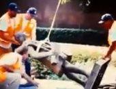 رويترز: محتجون أمريكيون يسقطون تمثالا لكريستوفر كولومبوس بولاية مينيسوتا