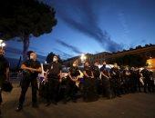 احتجاج ضباط الشرطة الفرنسية بسبب تصريحات وزير الداخلية