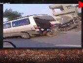 """شاهد.. تعليق صاحب فيديو """"حادث الموتوسيكل"""" على فيس بوك: آسف وندمان"""