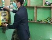 تحرير 24 مخالفة بقرى المنيا فى حملة تموينية مكبرة