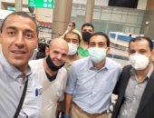 عضو بنقابة صيادلة القاهرة: إعادة 175 صيدليا من العالقين بالخارج.. صور