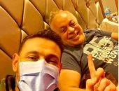 أشرف زكى يظهر من جديد بعد إجراء عمليه جراحيه
