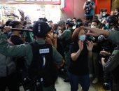 توقيف 53 متظاهرا فى هونج كونج بتهمة التجمع غير القانونى