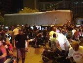 مسيرات وقطع للطرق احتجاجا على تدهور الأوضاع المعيشية فى لبنان
