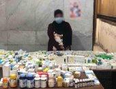 الداخلية تضبط 62 ألف قرص مخدر داخل صيدليتين