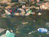 انتشار مياه الصرف الصحى بمساكن الدلتا فى مدينة السلام القاهرة