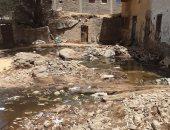 أهالى قرية المويسات بأسوان يناشدون المسئولين لحل أزمة ارتفاع منسوب المياه الجوفية