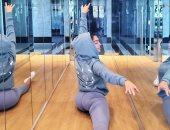صديقة كريستيانو رونالدو تستغل العزل الصحي في تنمية مهاراتها في الرقص