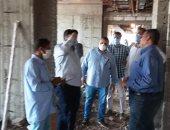 صور.. رئيس مركز إدفو يتابع الأعمال الإنشائية للمستشفى العام الجديدة