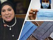 وزيرة الصناعة تبحث مع محافظ البحيرة ومستثمرين التوسع فى تصنيع الكمامات