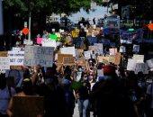 مظاهرات فى أتلانتا الأمريكية احتجاجا على مقتل رجل أسود برصاص الشرطة
