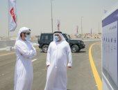 """حمدان بن محمد بن راشد يعلن تطوير طريق """"دبى – العين"""" بتكلفة مليارى درهم"""