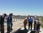 رئيس شركة مياه القناة يشدد على الإلتزام بالجداول الزمنية للمشروعات