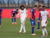 ريال مدريد يدمر شباك إيبار بثلاثية فى الشوط الأول بالدوري الإسباني.. فيديو