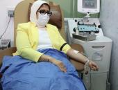 الصحة: العدوى لا تنتقل أثناء التبرع بالدم.. وأدوات المتبرع تستخدم مرة واحدة