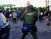القوات الخاصة تصل إلى أتلانتا لفض المظاهرات بالمدينة.. صور