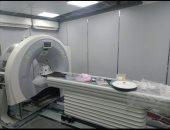 تشغيل جهاز أشعة مقطعية جديد بمستشفى بنها الجامعى