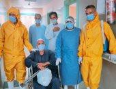 ارتفاع عدد المتعافين بكورونا فى مستشفى بنها للتأمين الصحى لـ103