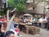 شكوى من تكدس وزحام المواطنين بسبب سوق عشوائى فى حى الخلفاوى بالقاهرة