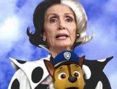 """سلسلة السخرية مستمرة.. ترامب الأبن يحول نانسى بيلوسى لشخصية كارتونية """"صورة"""""""