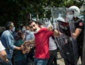 ارتفاع عدد المعتقلين فى مسيرة الديمقراطية بتركيا إلى 11 معتقلا..صور