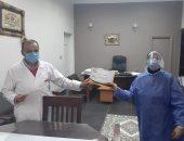 مستشفى عزل كرموز بالإسكندرية يعلن تعافى 30 من مصابى كورونا اليوم