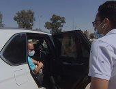 الشاب الذى تحدث مع الرئيس خلال إحدى جولاته: محدش كان مصدق إنى قابلته وكلمته