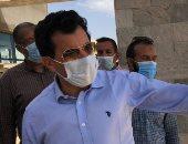 وزير الرياضة يقوم بجولة بمضمار الدراجات بستاد القاهرة الدولي ومركز شباب الاسمرات