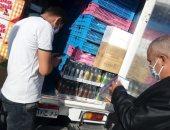 الطب الوقائى بجنوب سيناء يعدم 121 كيلو جرام و24 لتر مواد غذائية فاسدة