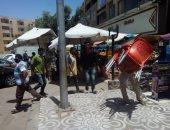 جهاز مدينة الشيخ زايد يشن حملة مكبرة لإزالة التعديات ورفع الإشغالات بالمدينة