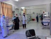 نقل وحدة الغسيل الكلوى والحضانات بمستشفى أبو حماد إلى الصوة لزيادة أسرة العزل