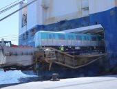 وصول الدفعة الثانية من قطارات مترو الأنفاق المكيفة الجديدة خلال أيام