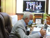 رئيس جامعة المنوفية يعقد اجتماعه الشهرى بعمداء الكليات لمتابعة الاستعداد للامتحانات