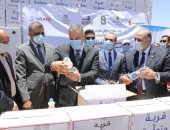 محافظ سوهاج : توزيع حقائب الحماية من كورونا على 10 آلاف أسرة بالقرى