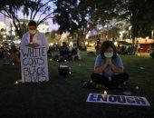 وقفة احتجاجية للعاملين بالرعاية الصحية فى لوس أنجلوس ضد تعديات الشرطة