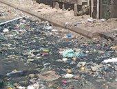 شكوى من تراكم القمامة المختلطة بمياه المجارى فى مساكن النصر بالإسكندرية