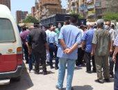 نقل جثمان شقيق مدير مستشفى المحلة العام المتوفى بكورونا للمقابر لدفنه