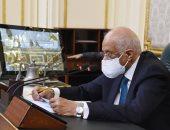 على عبد العال يعزى رئيس لجنة الدفاع والأمن القومى بالبرلمان فى وفاة حرمه