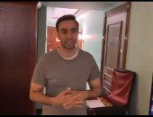 """من وراء كواليس مسلسل """"فرصة تانية"""" أحمد شامي يوثق أخر يوم تصوير.. فيديو وصور"""