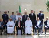 سفير السعودية لدى الأردن يلتقى بسفراء المجموعة العربية