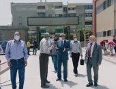 محافظ القليوبية يتفقد عددا من المستشفيات بالمحافظة لدفع الأعمال بها.. صور