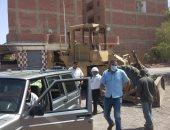 صور.. حملة لإزالة التعديات بمنطقة مساكن مبارك 2 والمنطقة الصناعية فى سفاجا