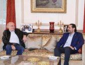 سعد الحريرى يبحث آخر مستجدات الأوضاع فى لبنان مع وليد جنبلاط